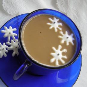 Снежинки в кафето
